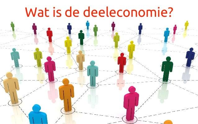 Wat is de deeleconomie?