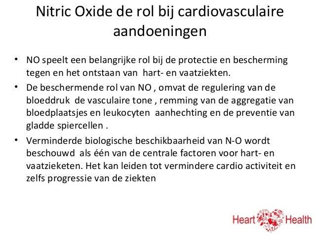 wat is nitric oxide slidshare heart health presentatie