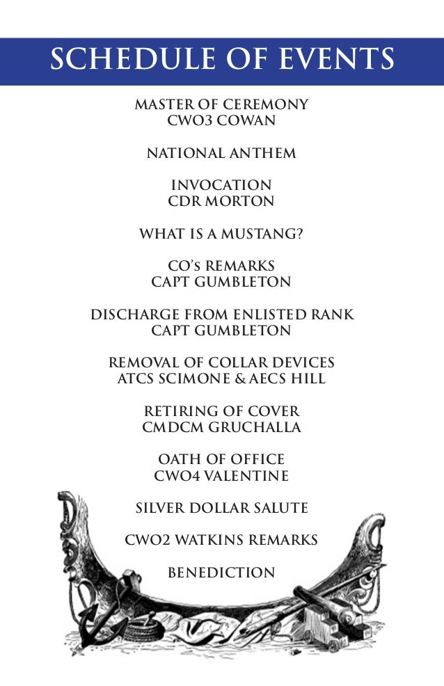 Watkins Commissioning Ceremony Booklet – Oath of Office Template