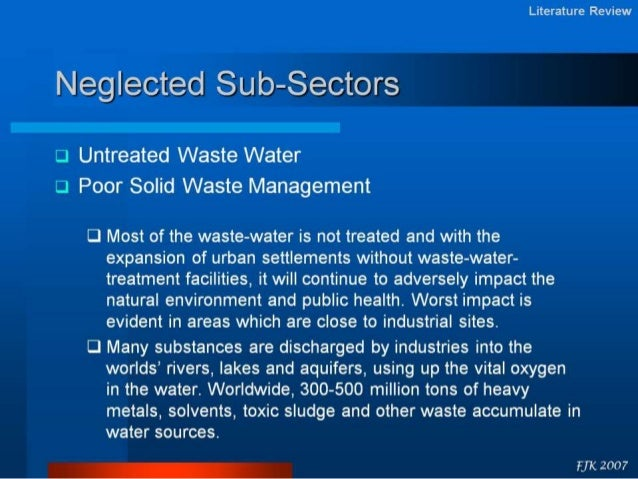Review related literature about solid waste management
