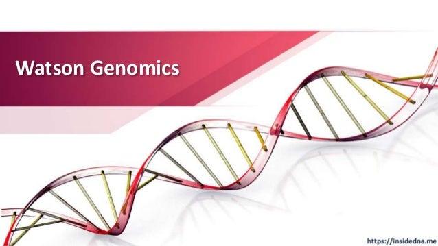 Watson Genomics