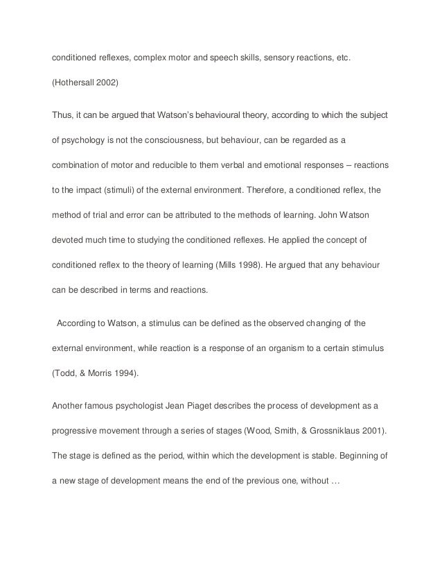 5 Paragraph Essay Topics For High School Piaget Essay Essays Term Papers also The Yellow Wallpaper Essay Piaget Essay  Describe And Evaluate Piagets Theory Of Cognitive  Sample High School Essays