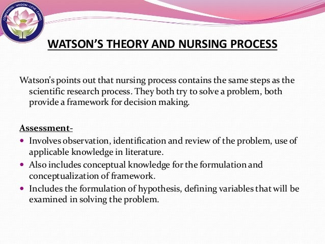 nursing as caring theory definition