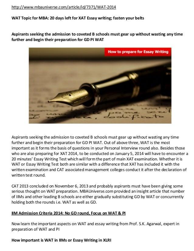 XAT 2019: Registration, Application Form, Eligibility, Syllabus, Exam Dates