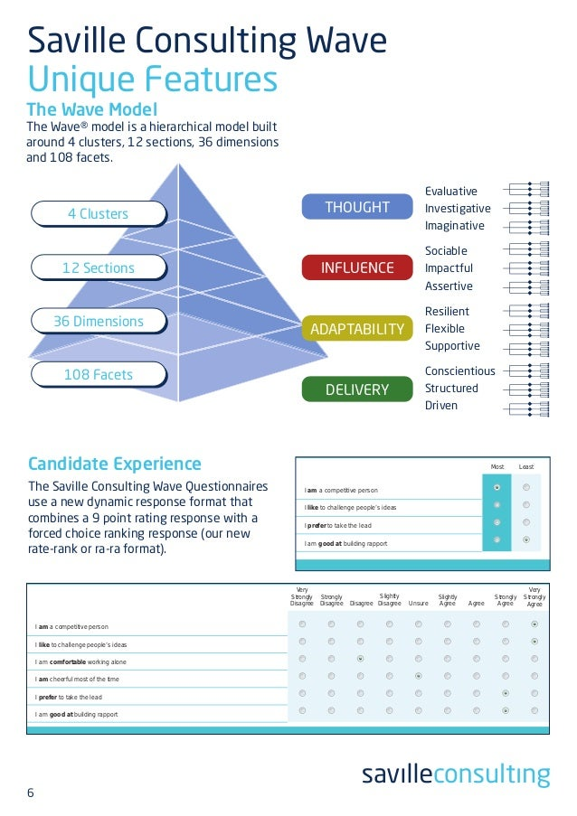saville consulting wave brochure 2014