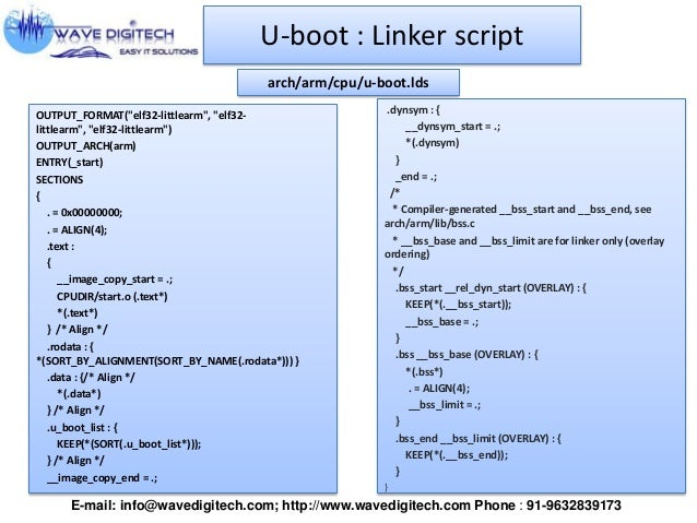 U-Boot presentation 2013