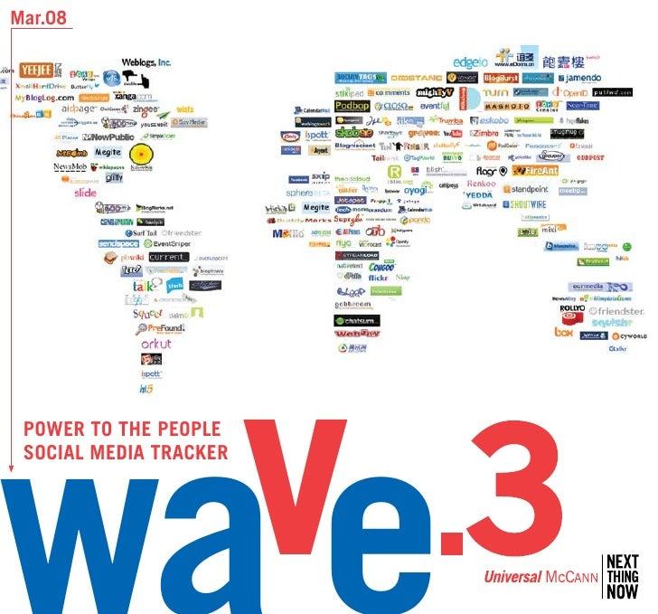Mar.08      Power to the PeoPle  SoCIAl MeDIA trACKer                            v   .3