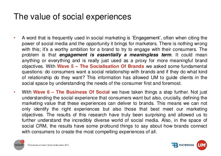 We think about social experiences first           LOW INVOLVEMENT                              I want no interaction      ...
