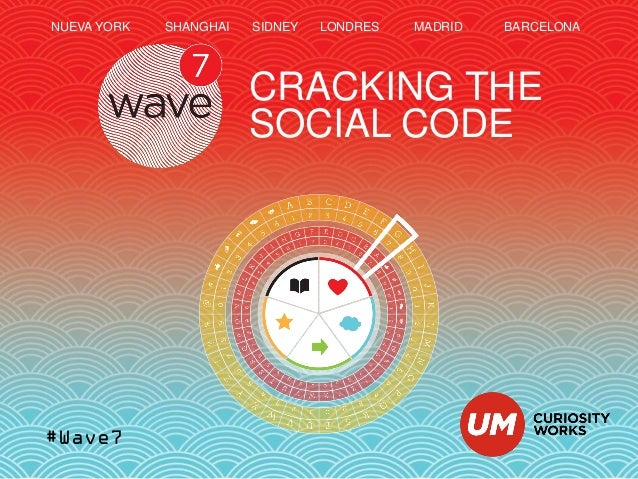 #Wave7 CRACKING THE SOCIAL CODE NUEVA YORK SHANGHAI SIDNEY LONDRES MADRID BARCELONA