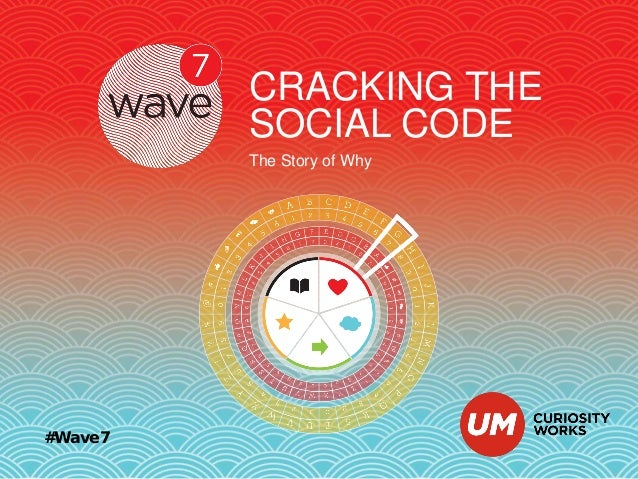 CRACKING THE SOCIAL CODE The Story of Why  #Wave7