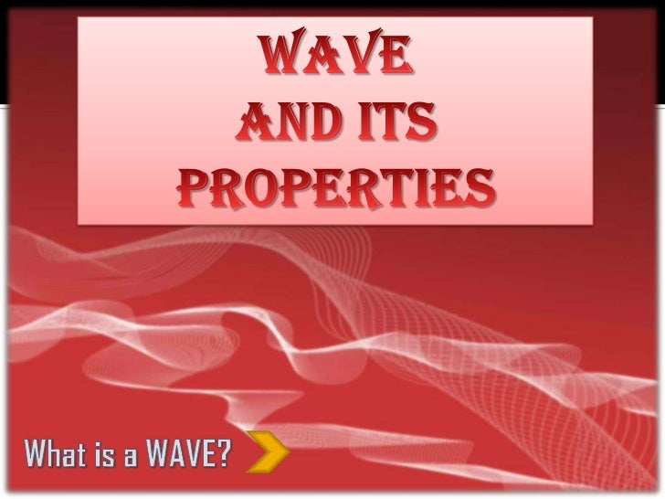 PARTS OF THE WAVE