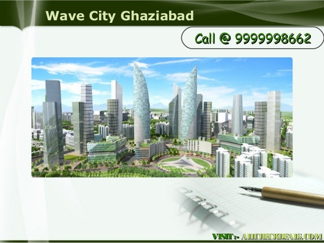 Wave City Ghaziabad, High-Tech Apartments in Ghaziabad Slide 2