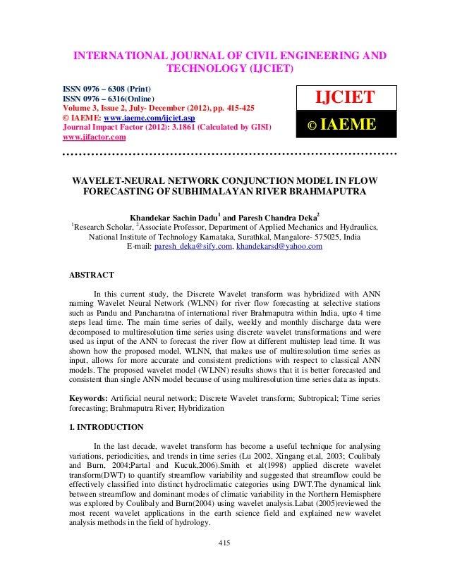International Journal of Civil Engineering and Technology (IJCIET), ISSN 0976 – 6308  INTERNATIONAL JOURNAL OF CIVIL ENGIN...
