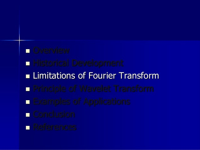 Limitations of Fourier Transform:  To show the limitations of Fourier Transform, we chose a well-known signal in SONAR an...