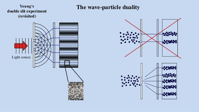 The wave-particle duality and the double slit experiment