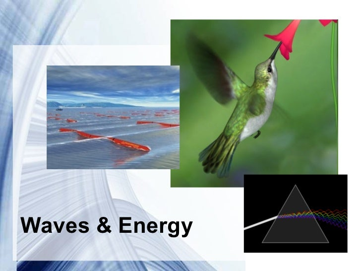 Waves & Energy         Powerpoint Templates