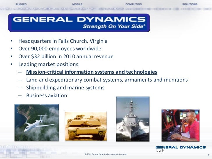 General Dynamics Itronix Rugged Mobile Computing Solutions from WAV