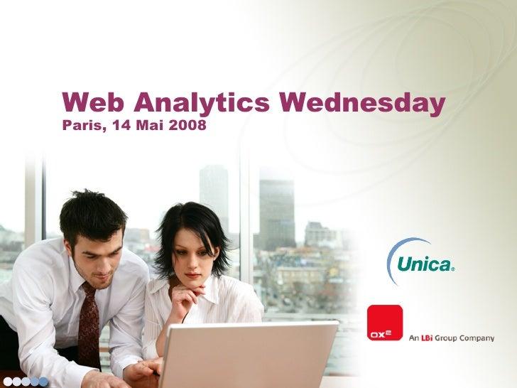 Web Analytics Wednesday  Paris, 14 Mai 2008