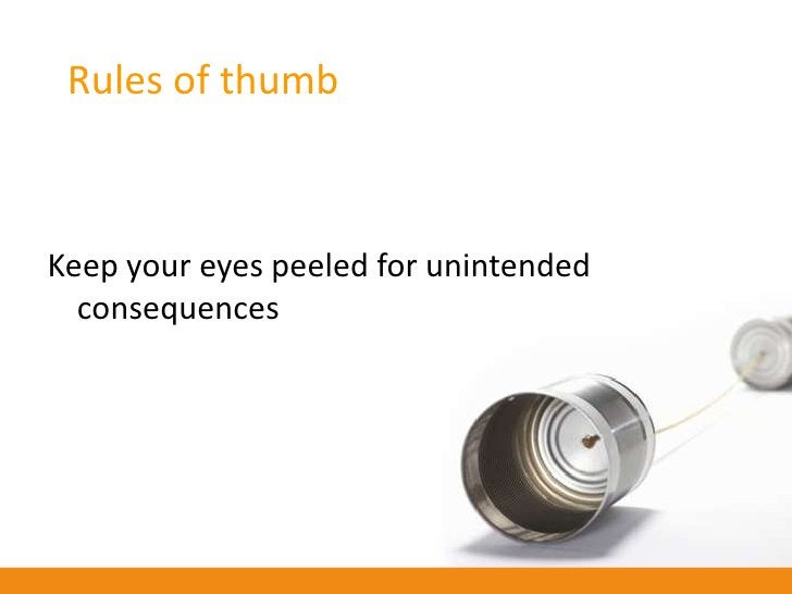 Rules of thumb    Use SM to gain an understanding of who you're reaching