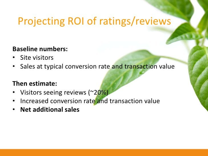Projecting ROI of a company blog  • Advertising value (visibility/traffic) • PR value (press stories written about/driven ...