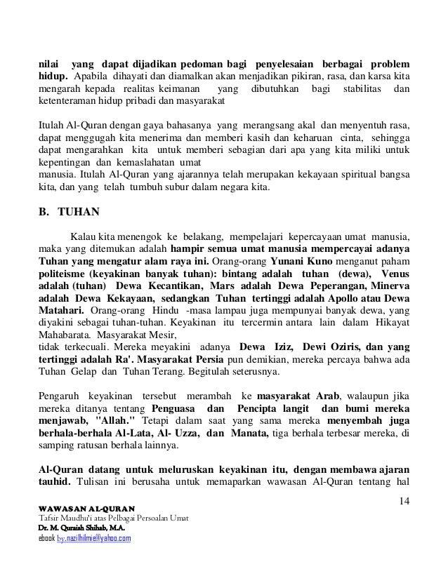 Quraish Shihab Menjawab Ebook