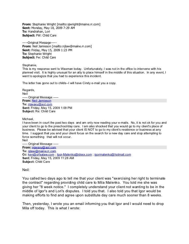 From: Stephanie Wright [mailto:sjwright@maine.rr.com]Sent: Monday, May 18, 2009 7:29 AMTo: Handrahan, LoriSubject: FW: Chi...
