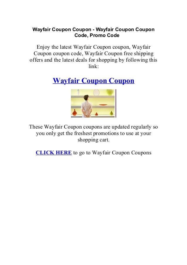 Wayfair Coupon Wayfair Coupons Promo Codes