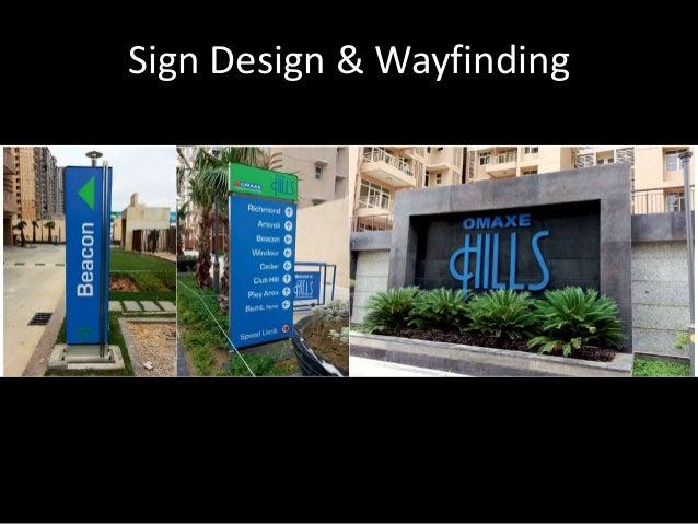 Sign Design & Wayfinding