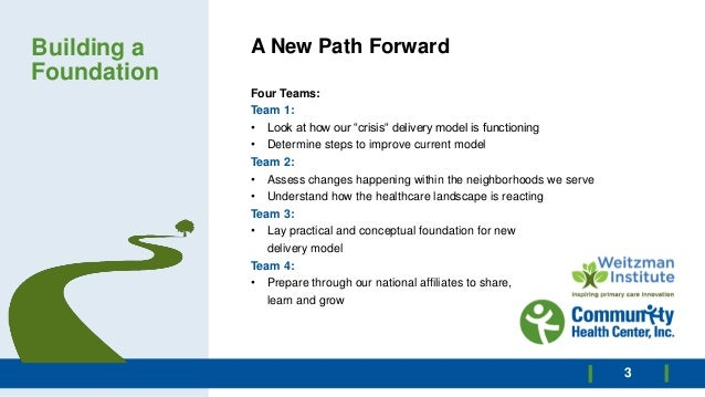 The Path Forward Slide 3