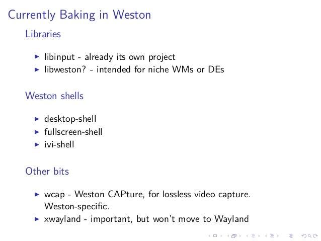 E-Dev-Day-US-2015][6/9] Wayland - What's up upstream? (Bryce Harring…