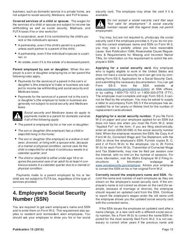 Wayne Lippman Irs Tax Publication 15