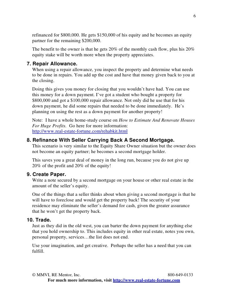 27 ways to buy multi family properties with no money down for Cost plus building contract template