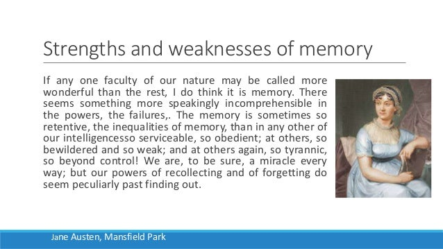ways of knowing memory and imagination