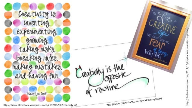 creativity in the classroom Here is the list of strategies that can help teachers to promote or cultivate creativity in the classroom.
