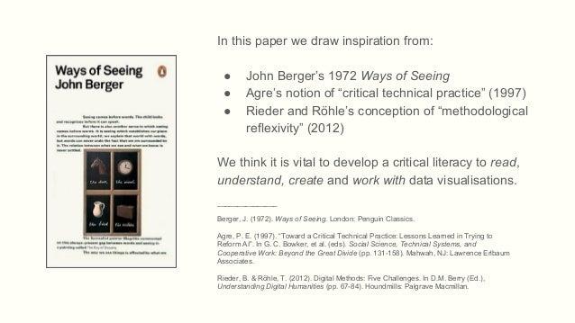 John Bergers Ways of Seeing