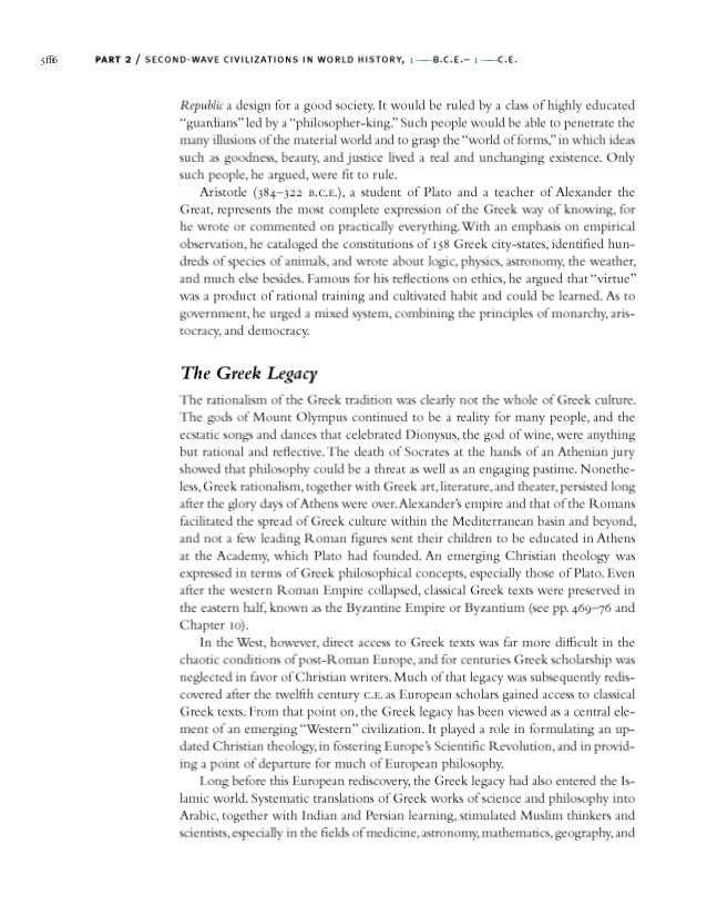 strayer world history chapter 11 Ways of the world: a brief global history with sources and each chapter narrative ends with reflections, a consideration of history and the human enterprise it i suggest everyone buy strayer's ways of the world and all of its volumes it makes a great gift as well read more.