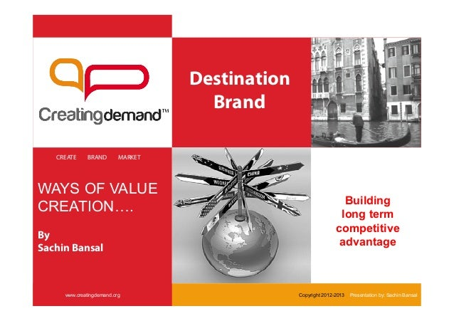 Destination                                     Brand   CREATE    BRAND        MARKETWAYS OF VALUE                        ...