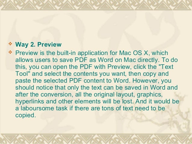 how to open pdf document in word on mac