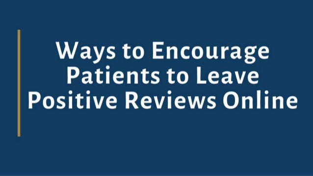 By adding the patient reviews through a convenient process can protect and strengthen healthcare/hospital reputation while...