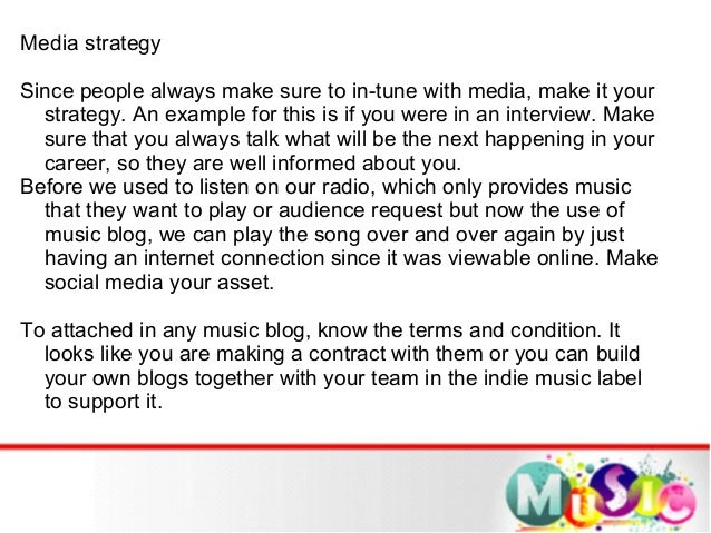 Ways to get your music notice by the public