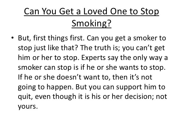 link to help people stop smoking People often feel depressed when they are in the process of stopping  you will  also find a mood test and links to help and information about depression.