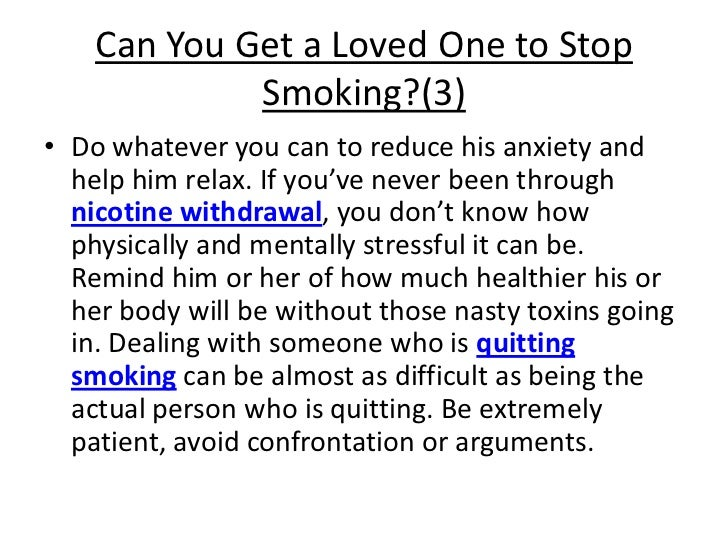 Ways To Help Someone Quit Smoking This Valentine