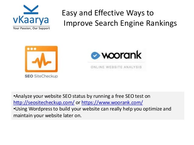 Top Tips to Improve Search Engine Rankings
