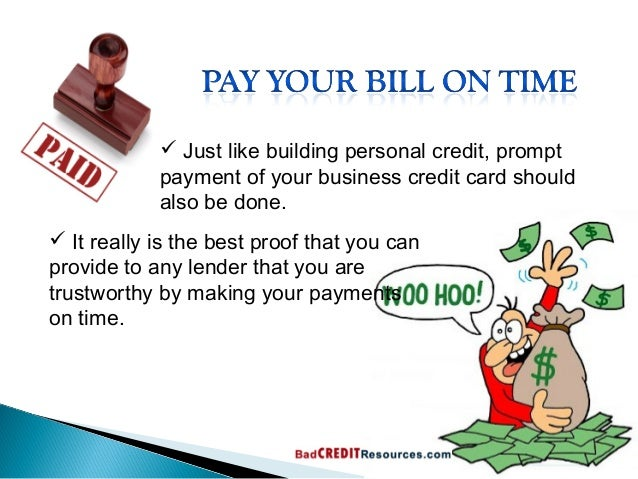 Ways to improve your business credit profile business credit history 5 reheart Choice Image