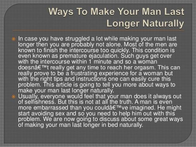 How to make a man orgasm