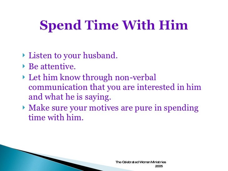 wife not interested in husband