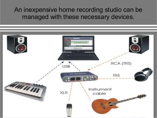 Computer 9 An Inexpensive Home Recording Studio