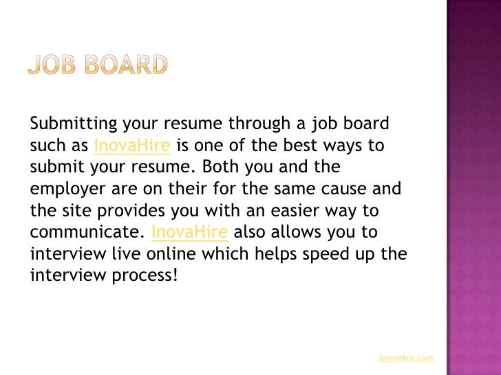 online resumes for employers
