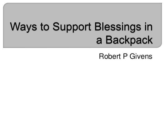 Robert P Givens