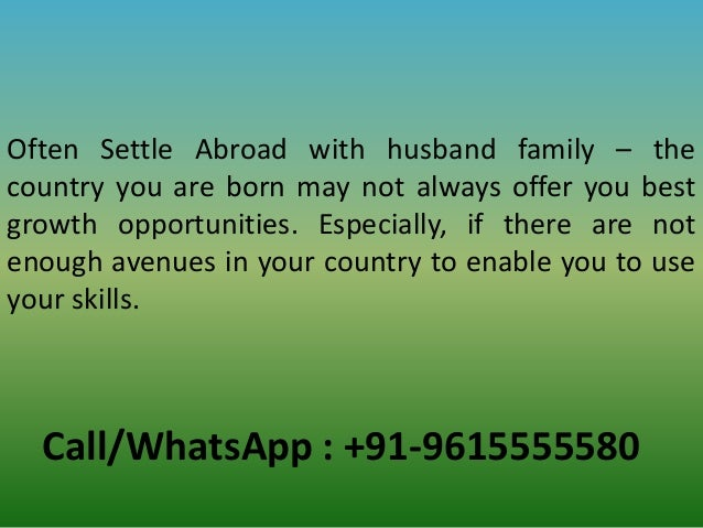 Wazifa to settle abroad with husband family